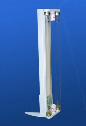 Бактерицидная лампа. ОБП-2-15 с подставкой *БЕЗОЗОНОВАЯ*
