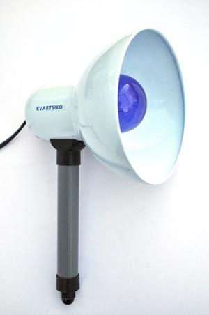 Рефлектор Синяя лампа Kvartsiko-СЛ-60 База Ручная